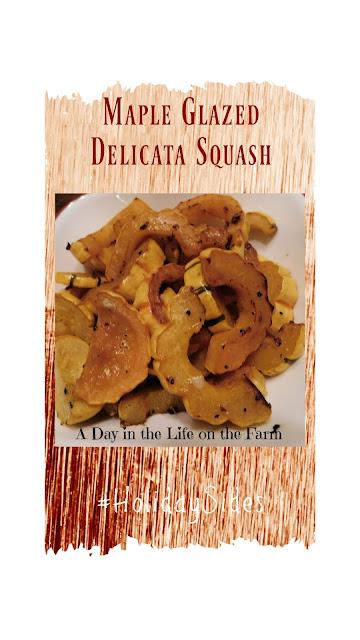Maple Glazed Delicata Squash pin
