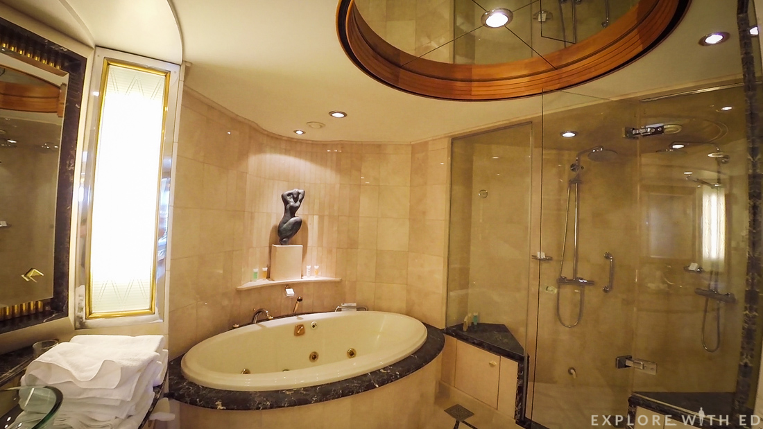 Royal Suite Bathroom, Explorer of the Seas