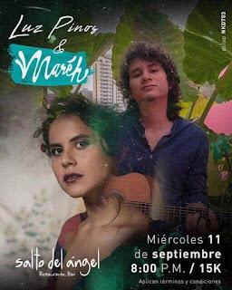 POS Concierto de LUZ PINOS y MAREH en Bogotá