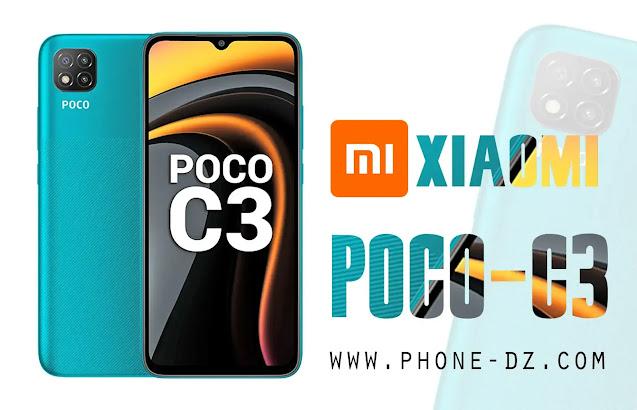 سعر و مواصفات هاتف Xiaomi Poco c3 في الجزائر