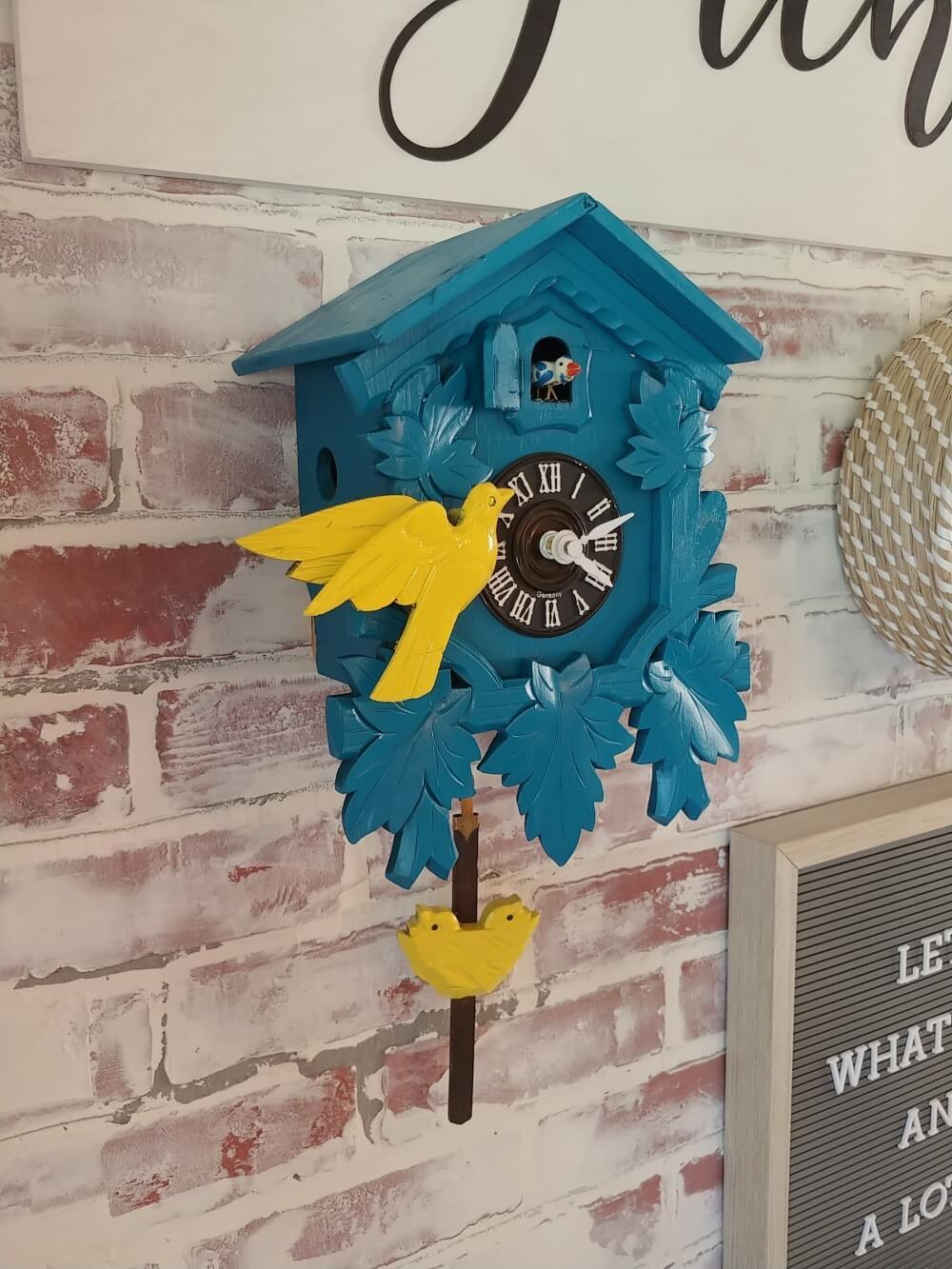 Cuckoo Clock upcycle