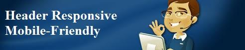 Creating Blogger Header Responsive Mobile-Friendly