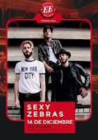 Concierto de Sexy Zebras y Kitai en Joy Eslava