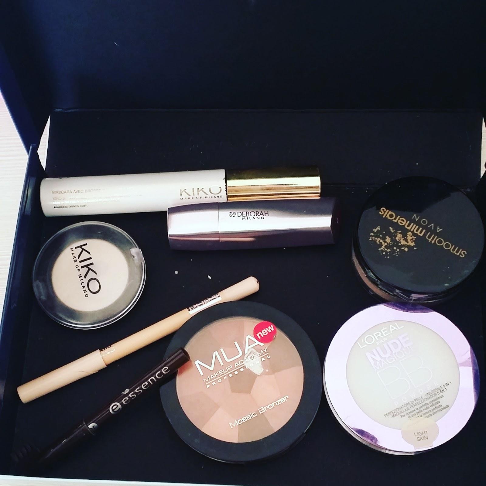 come organizzare il makeup