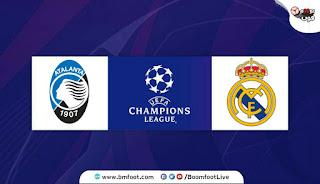 مشاهدة مباراة ريال مدريد واتلانتا بث مباشر