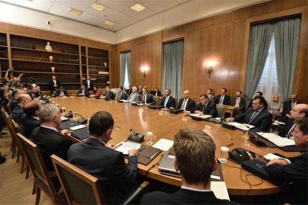 Αποτέλεσμα εικόνας για υπουργικο συμβουλιο μητσοτακη