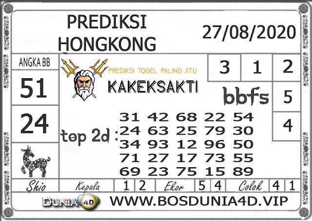 Prediksi Togel HONGKONG DUNIA4D 27 AGUSTUS 2020