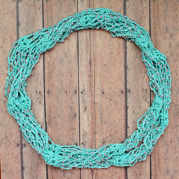 the craft patch beaded crochet wrap necklace tutorial