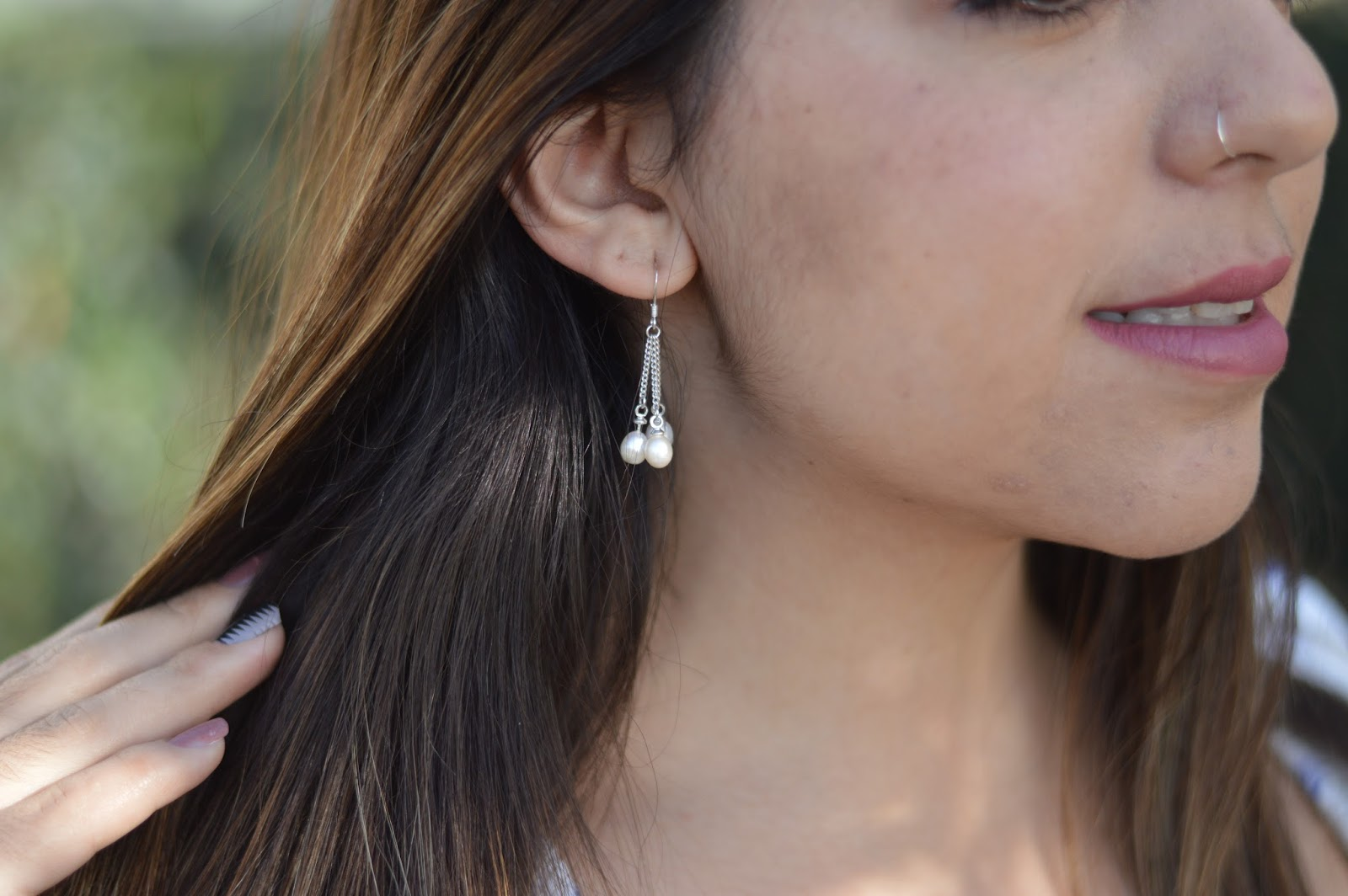 Pearl & Clasp – Beautiful Elegant Earrings