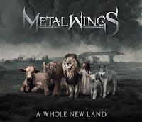 """Ο δίσκος των Metalwings """"A Whole New Land"""""""