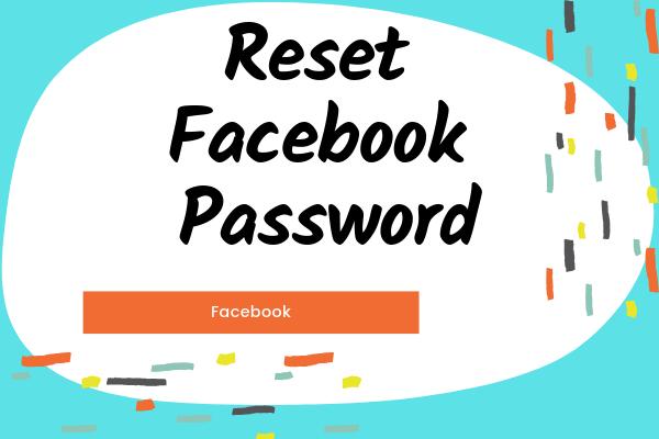 Reset Facebook Password