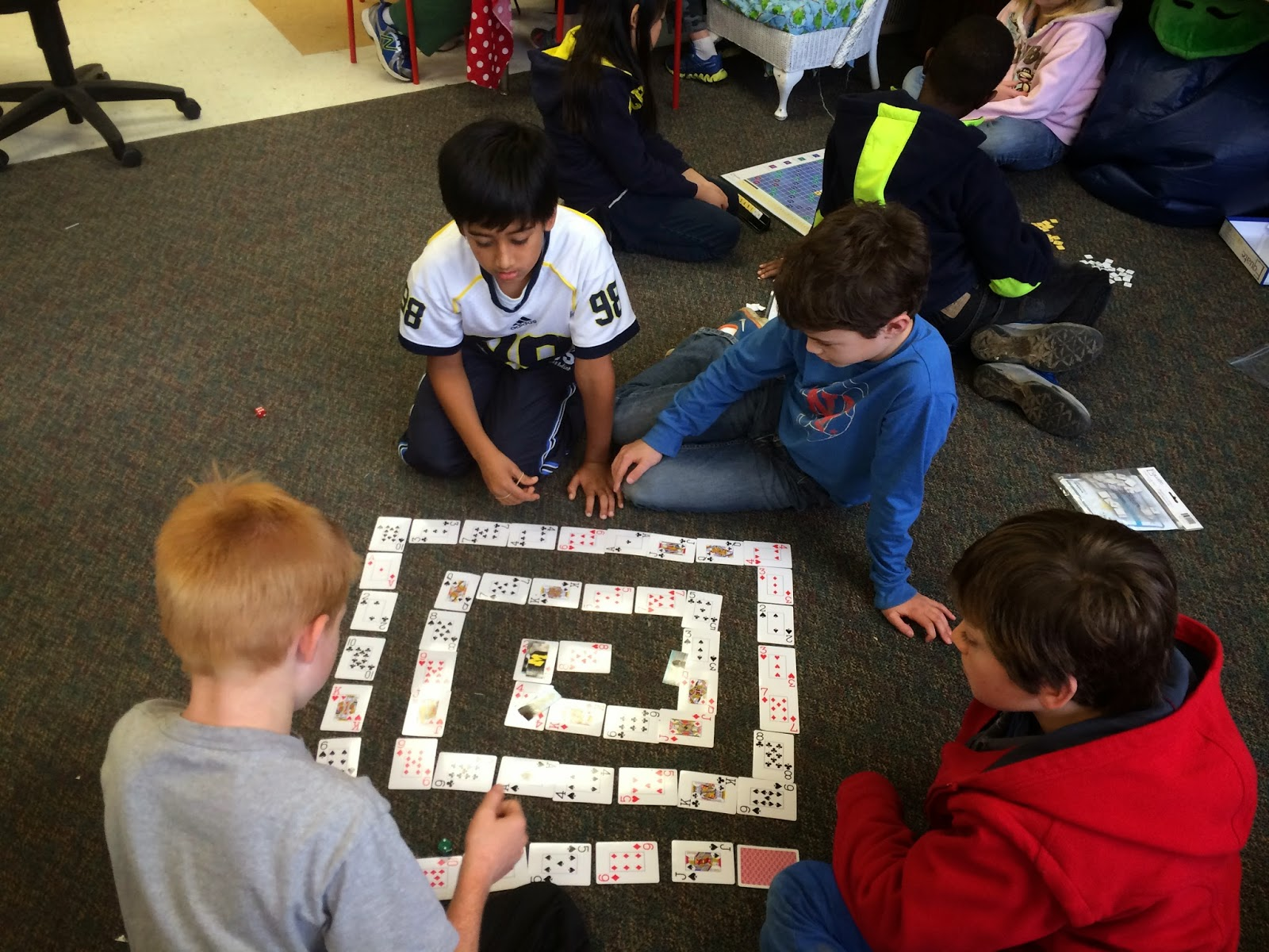Mrs. McGee\'s World: Game Day with Mrs. Hahn\'s Class