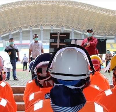Stadion Patriot Candrabhaga Mulai Digunakan Sebagai Lokasi Isolasi Pasien
