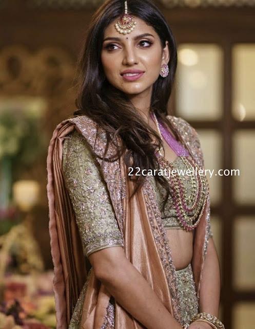 Rana Fiance Miheeka Bajaj Jewellery