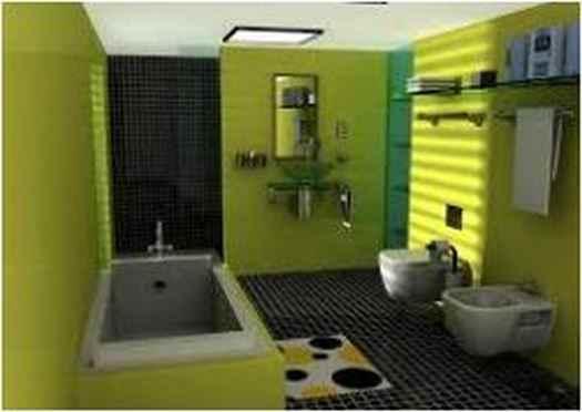 Bathroom Ideas In Yellow BI 68Y