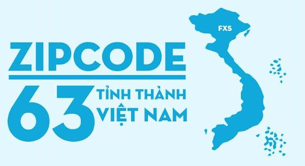 Mã bưu chính (Zipcode) 63 tỉnh thành Việt Nam (Đã cập nhật 2019)