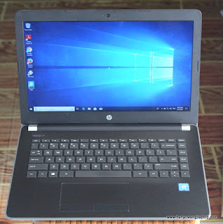 Jual Laptop Hp-14 - BS 754TU - (Proc N3060) Banyuwangi