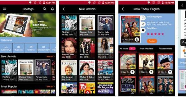 JioMags Aplikasi Android Terbaru, Unik dan Keren 2018