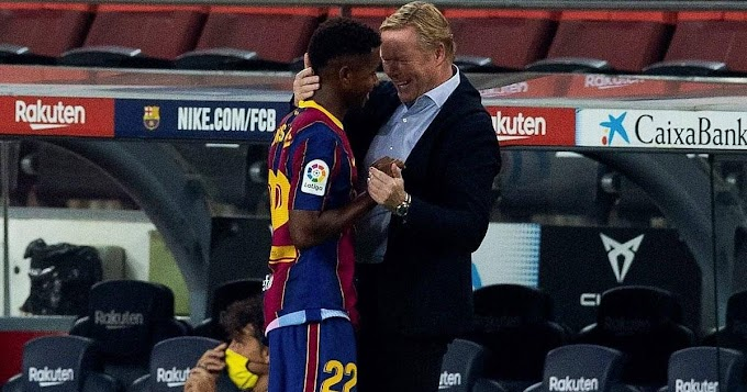 'I criticized Ansu for his performance in the pre-season against elche, that's what gave him a boost: Barca boss Koeman