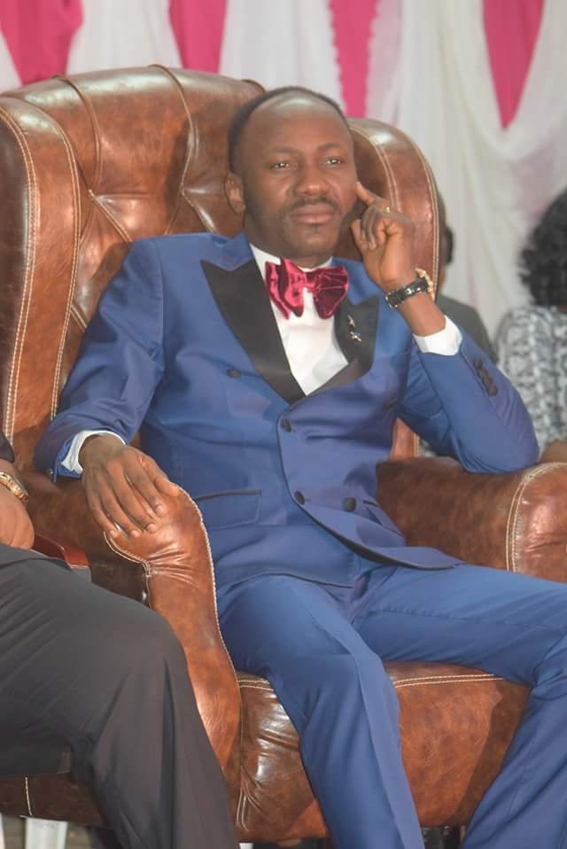 Pictures: Apostle Suleman In University Of Ibadan For 'Help From Above'