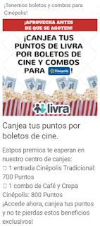 canje boletos para el cine