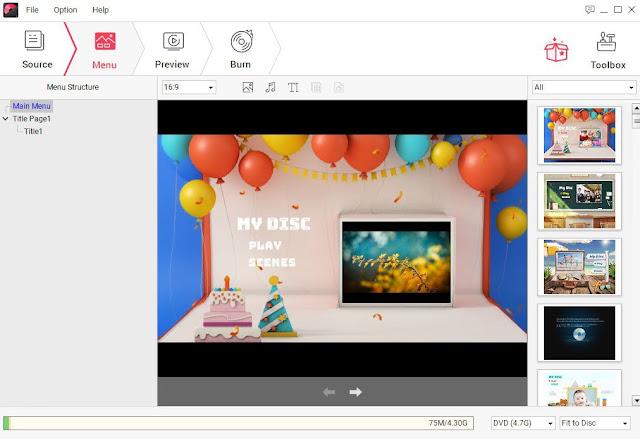 برنامج نسخ الفيديو على DVD وعمل اسطوانة فيديو ديفيدي