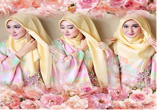 Tutorial Hijab Style Dian Pelangi Untuk Gaya Yang Lebih Modern