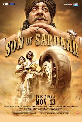 Son of Sardaar 2012 Hindi 720p BluRay 900MB