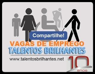 TALENTOS BRILHANTES VAGAS