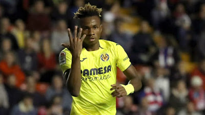 Super Eagle's Samuel Chukwueze scores for Villarreal in eight-goal thriller against Granada