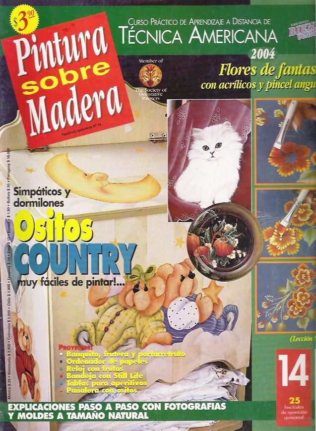 Revista: Pintura sobre madera No. 14