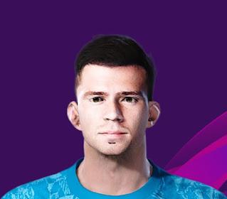 PES 2020 Faces Egor Baburin by Korneev