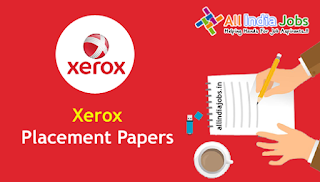 Xerox Placement Papers