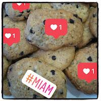 biscuits sésame tournesol chocolat