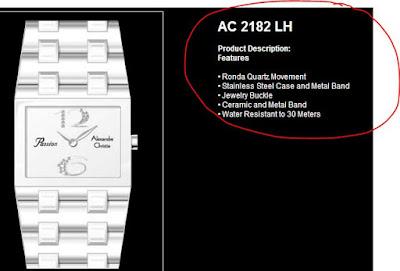 Cek semua fitur dalam jam tangan tersebut.