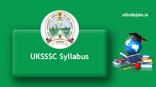 UKSSSC Assistant Instructor Syllabus