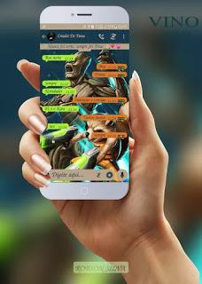Alien & Fox Theme For YOWhatsApp & GB WhatsApp By Robson