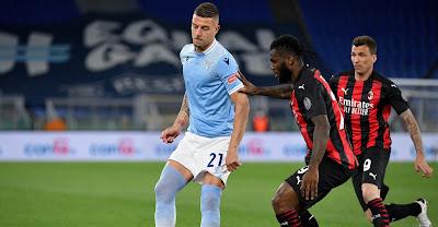 ملخص واهداف مباراة لاتسيو وميلان (3-0) الدوري الايطالي
