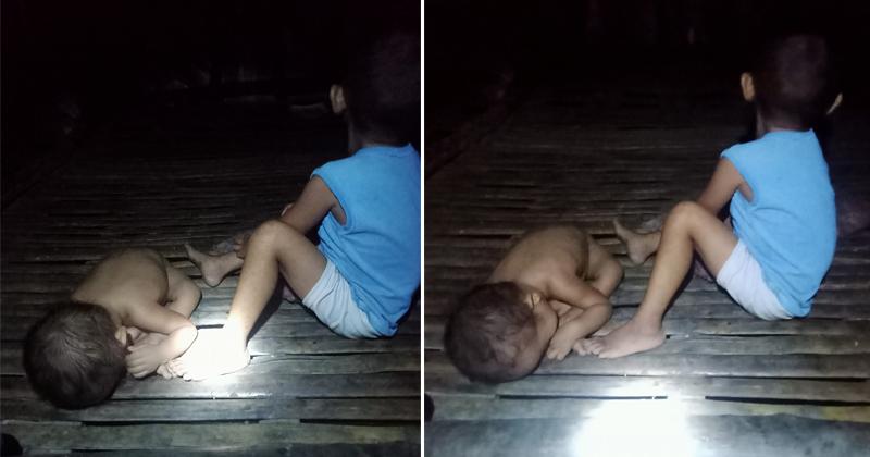 Dalawang Batang Paslit, Pinababayaan Umano ng mga Magulang nito