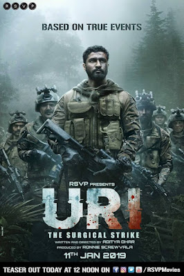 Uri: The Surgical Strike 2019 Hindi Movie Pre-DVDRip 700Mb