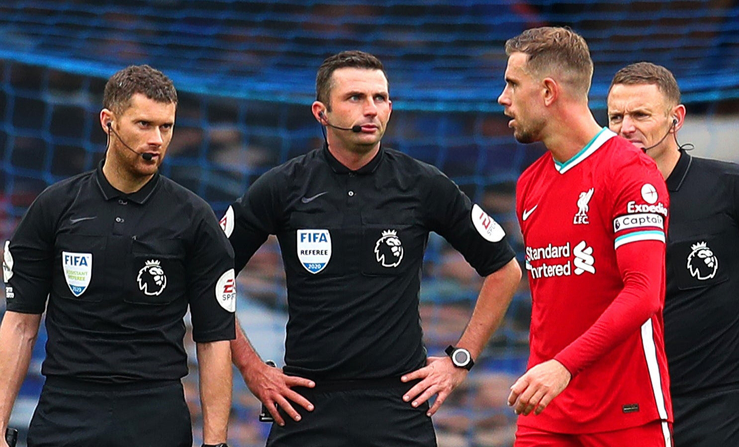 Jordan  Henderson says VAR officials bend the lines sometimes to disallow goals.