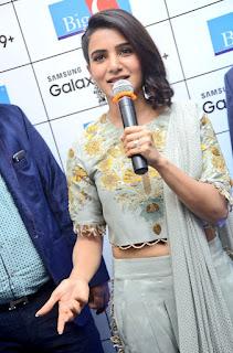 Samantha Ruth Prabhu in Di Saree Special Designer Dress