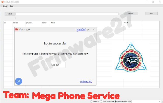 Xiaomi authorized id for Flashing