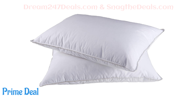 40% off Down Pillows for Sleeping--2 Pack