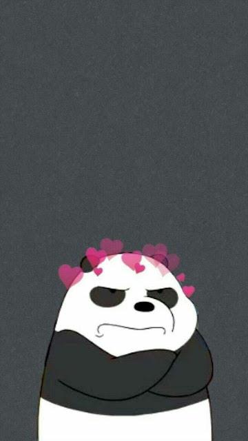 lock screen panda wallpaper