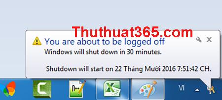 Cách hẹn giờ tắt máy tính đơn giản nhất-1