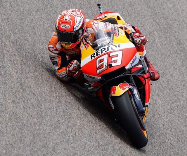 Marc Marquez Pole Position MotoGP Sachsenring German 2019