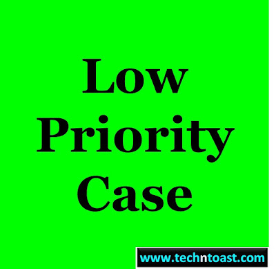 Tooltip - Low Priority Case