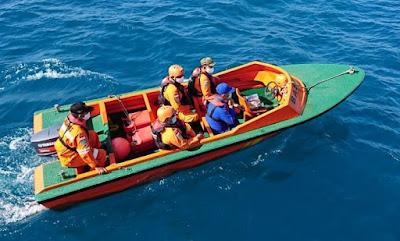 Kapal Nelayan Dihantam Tali Tongkang, Satu Korban Dalam Pencarian