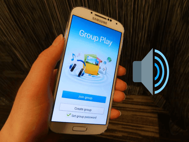 كيفية تشغيل أغنية علي 3 هواتف في وقت واحد تطبيق groupcast